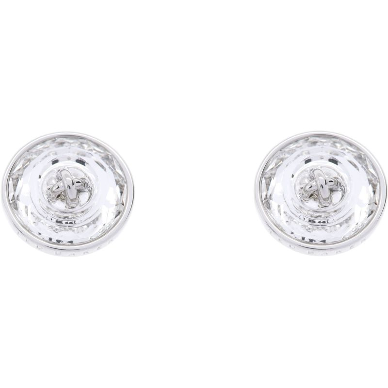 Ladies Ted Baker Silver Plated Kinley Crystal Button Earring from Ted Baker Jewellery