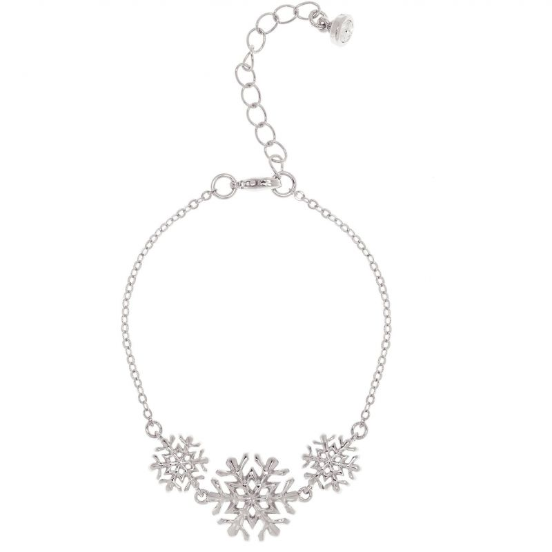 Ladies Ted Baker Silver Plated Snowflake Bracelet from Ted Baker Jewellery