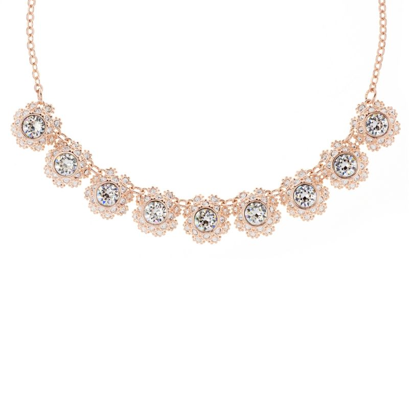 Ladies Ted Baker Siero Crystal Daisy Lace Necklace from Ted Baker Jewellery