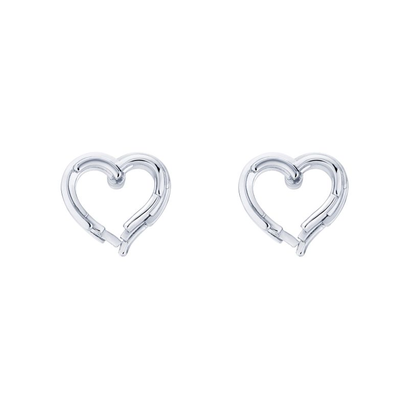 Ladies Ted Baker Lornaa Layered Heart Stud Earring from Ted Baker Jewellery