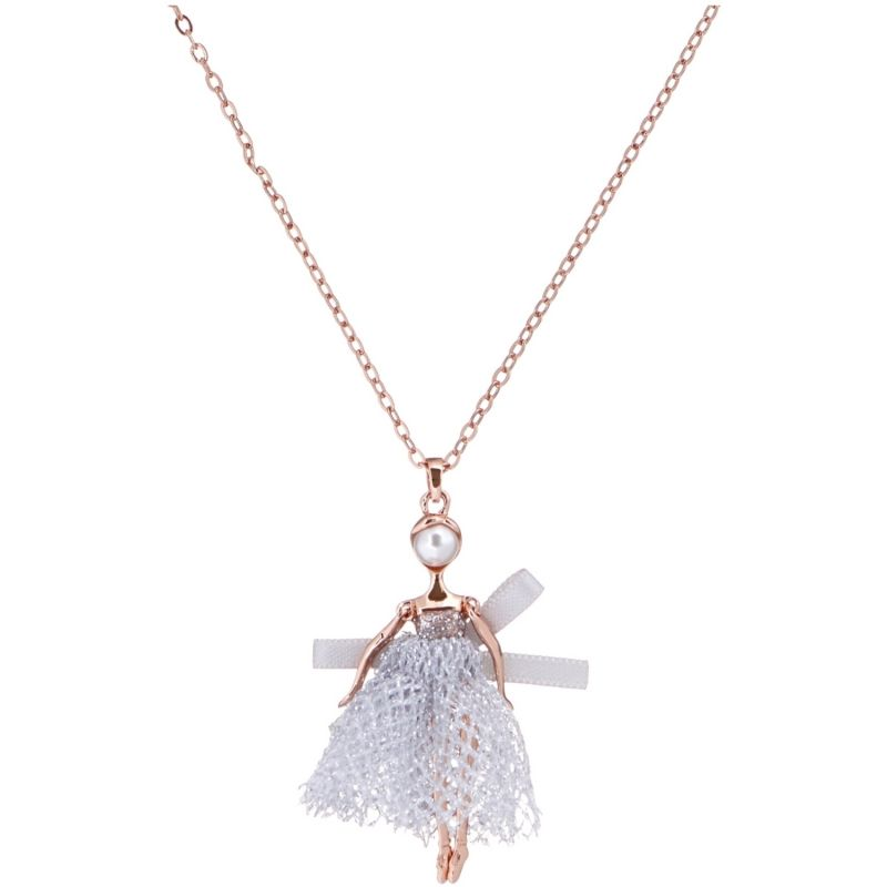 Ted Baker Carabel Mini Ballerina Necklace from Ted Baker Jewellery