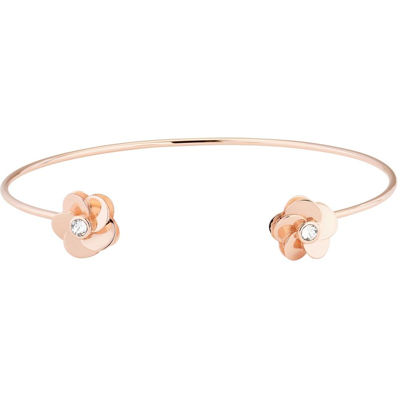 Ted Baker Phedra Polished Flower Ultrafine Bangle from Ted Baker Jewellery