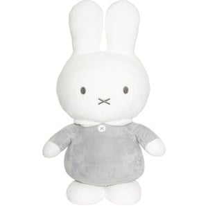 Teddykompaniet Teddykompaniet Grey Miffy Bunny Soft Toy 0 - 6 years from Teddykompaniet