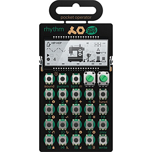 Teenage Engineering TE010AS012 Pocket Operator PO-12 Rhythm Drum Machine from Teenage Engineering