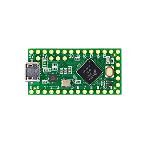 Teensy DEV-13305 Development Board with Boot Loader and Micro USB for Arduino IDE and Write Arduino Sketches - Green from Teensy