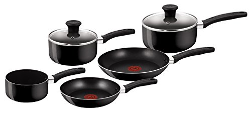 Tefal Delight Cookware Set - Black, 5 Pieces from Tefal