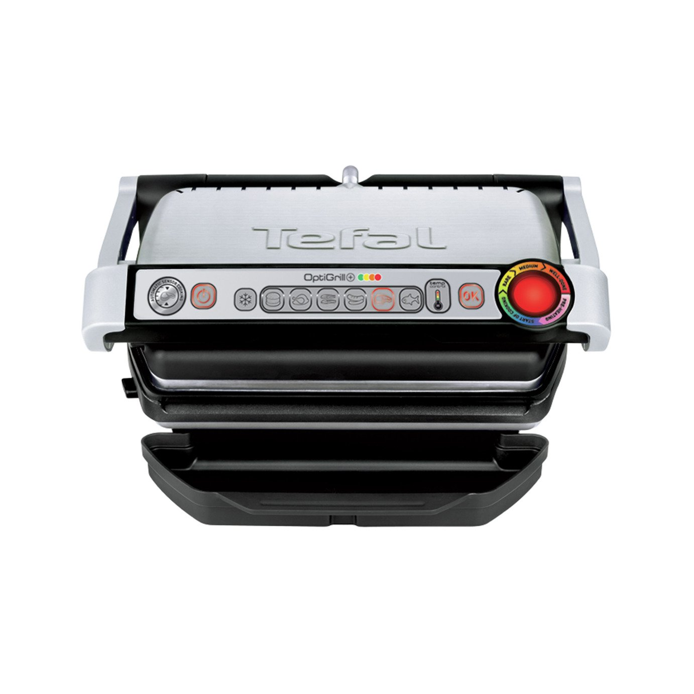 Tefal - GC713D40 OptiGrill Plus Health Grill from Tefal