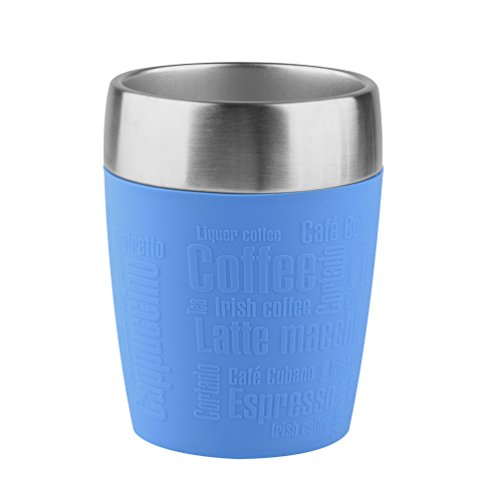 Tefal Travel Cup, Stainless Steel, Blue, 200 ml from Tefal