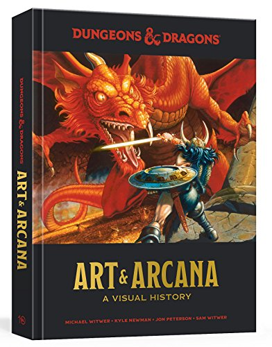 Dungeons and Dragons Art and Arcana: A Visual History from Ten Speed Press