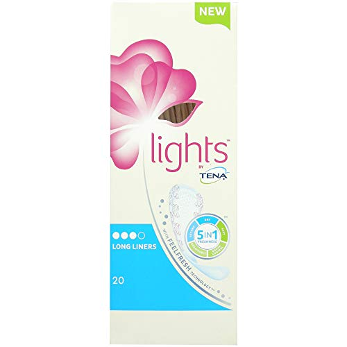 Lights by TENA Long Liners (2 Packs of 20) from Tena