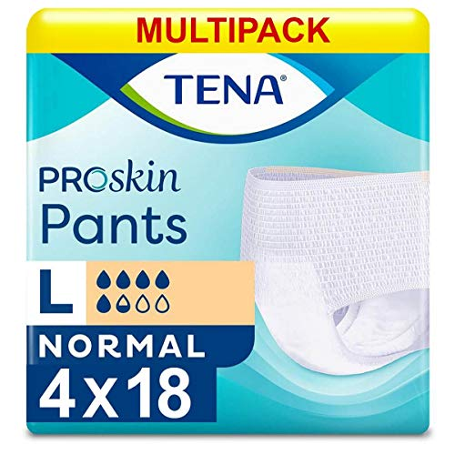 TENA Pants Normal Large - 4 Packs of 18 from Tena