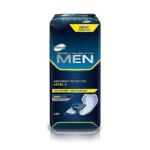 TENA for men level 2 (pack of 20-120), quantity discount 1 or 6 packs from TENA