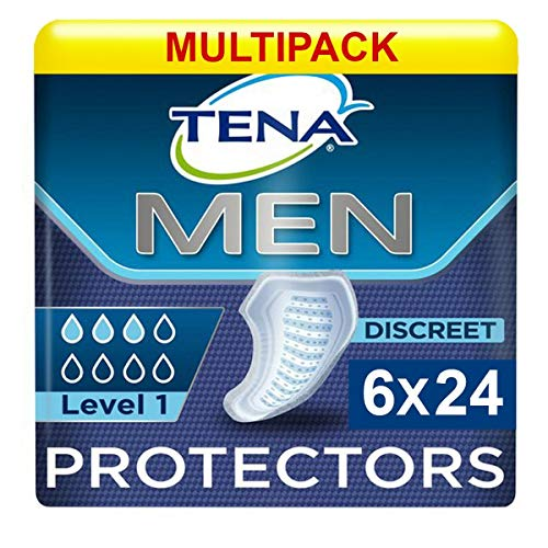 Tena For Men Level 1 (245ml) 6x Pack of 24 (144 in total) from Tena