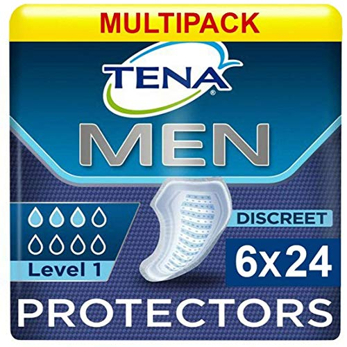 Tena For Men Level 1 (245ml) 6x Pack of 24 (144 in total) by Tena from TENA