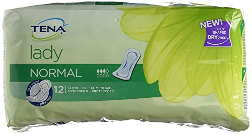 Tena Lady Normal Pads - 2 Packs of 24 (48 Pads) from Tena