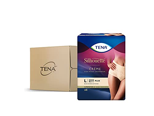 Tena Lady Pants Plus Large Case Saver 4 Packs of 8 from Tena