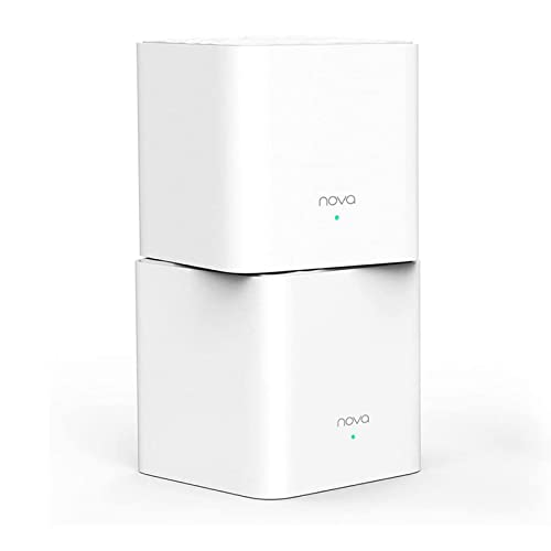 TENDA NOVA MW3 Whole Home Mesh Wi-Fi System (Pack of 2) White from Tenda