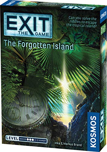 Thames and Kosmos 692858 Exit The Forgotten Island Game from Thames & Kosmos