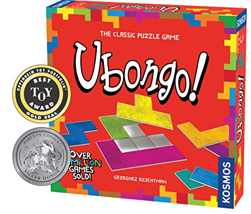 Thames & Kosmos 696184 Ubongo-Sprint to Solve The Puzzle | Family Friendly Fun Game | Highly Re-Playable | Quality Components Strategy, 1-4 Players | Ages 8+ | from Thames & Kosmos