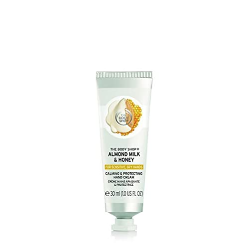 Almond Milk & Honey Calming & Protecting Hand Cream 30ml from The Body Shop