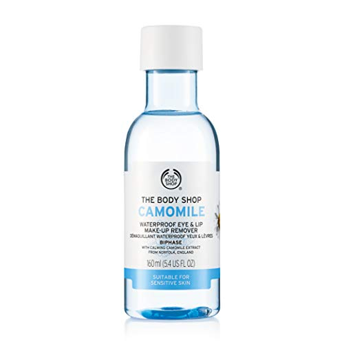 The Body Shop Camomile Waterproof Eye & Lip Makeup Remover 150ml from The Body Shop