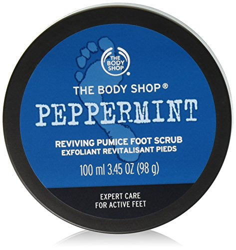 The Body Shop Peppermint Soothing Foot Scrub 100ml from The Body Shop
