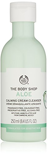 the body shop aloe calming cream cleanser 250ml from The Body Shop