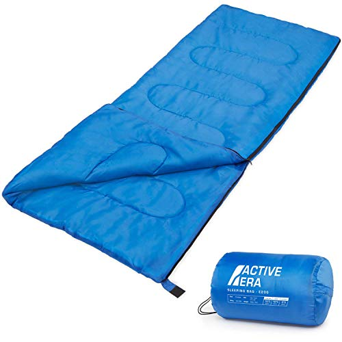 Premium 200 Warm Lightweight Envelope Sleeping Bag from The Body Source