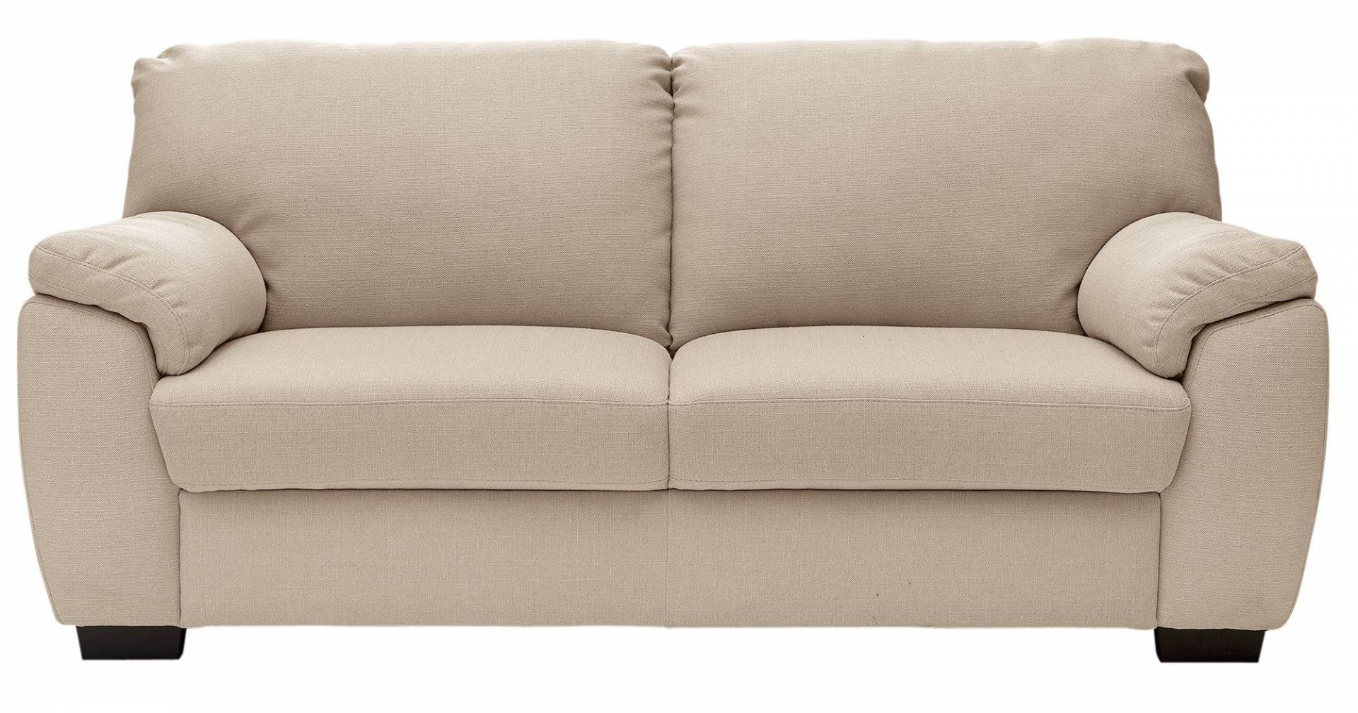 Collection - Milano 3 Seater Fabric Sofa - Mink from The Collection by Argos