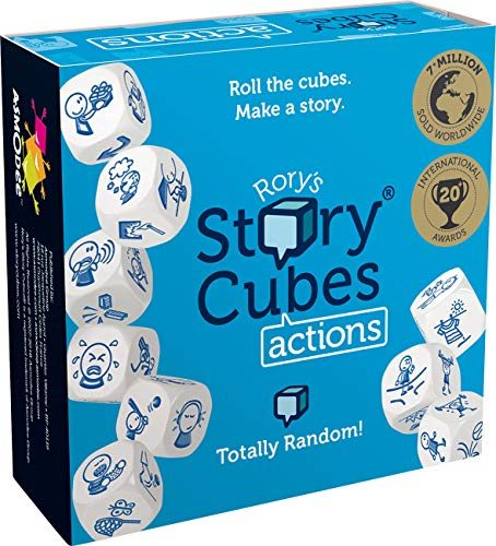 Asmodee The Creativity Hub Rory's Story Cubes Actions from Asmodee