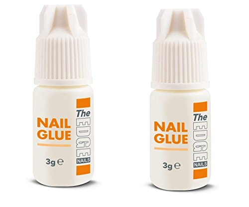 The Edge 3G Adhesive False Super Strong Nail Tips - Pack of 2 from The Edge