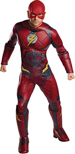 Rubie's Official Adult DC Warner Bros Justice League The Flash Costume - Standard Size from Rubie's