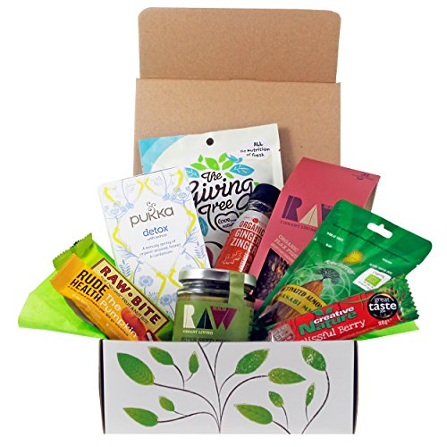 Super Healthy Natural Hamper Gift Box (Vegan & Gluten-free) from The Goodness Project