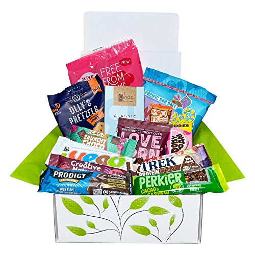 Vegan Chocolate and Snack Treat Hamper Gift Box from The Goodness Project