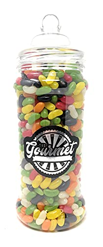 Jelly Beans 1.9kg Retro Sweets Large Victorian Gift Jar from The Gourmet Sweet Company
