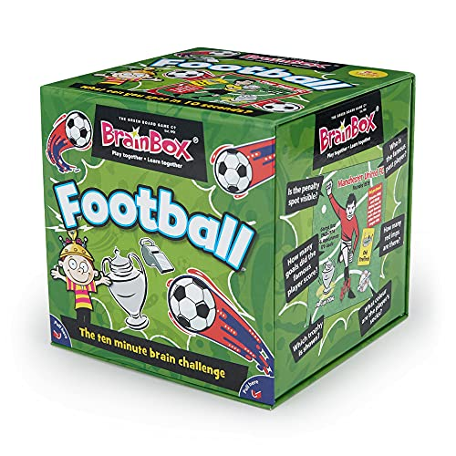 BrainBox - Football from The Green Board Game Co.