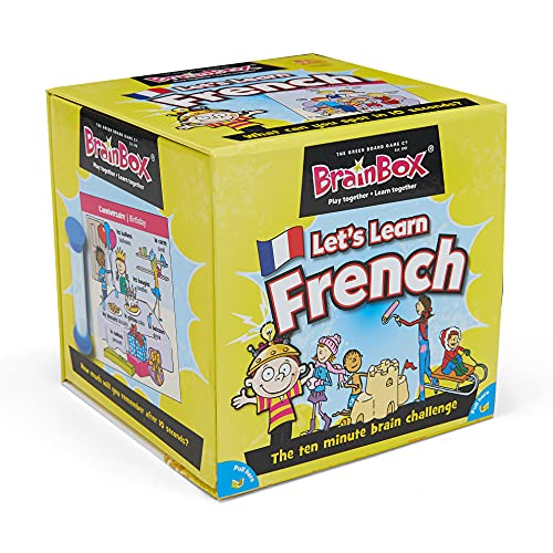 BrainBox - Lets Learn French from The Green Board Game Co.