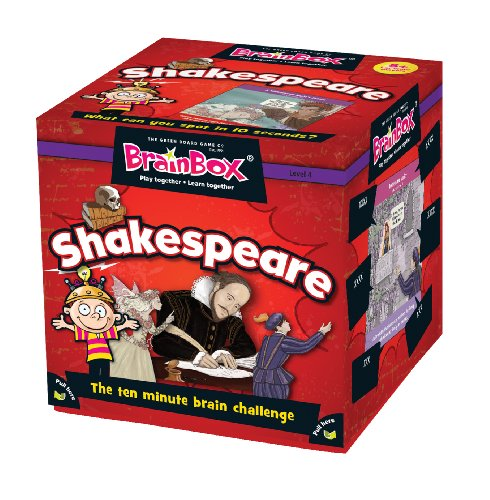BrainBox - Shakespeare Game from The Green Board Game Co.
