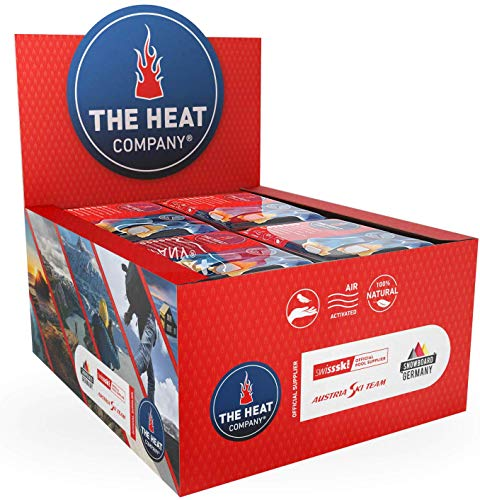 THE HEAT COMPANY Toewarmers - EXTRA WARM - Adhesive - Foot Warmers - 8 Hours Warm Feet - Instant Heat - Air Activated - Purely Natural 40 Pairs from THE HEAT COMPANY