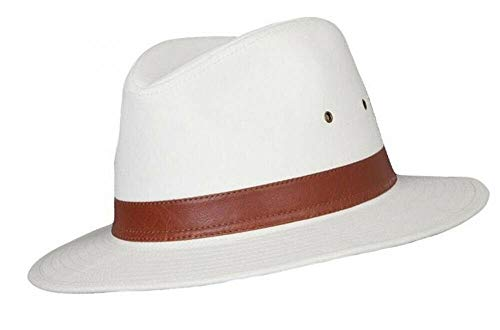 Mens Cotton Fedora A232 (Small 57cm) from The Hat Company