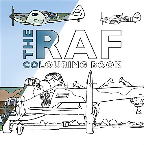 The RAF Colouring Book from The History Press