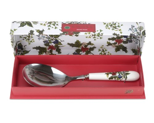 Portmeirion Home & Gifts Serving Spoon, Stainless Steel, Multi-Colour, 25 x 6 x 2 cm from Portmeirion Home & Gifts