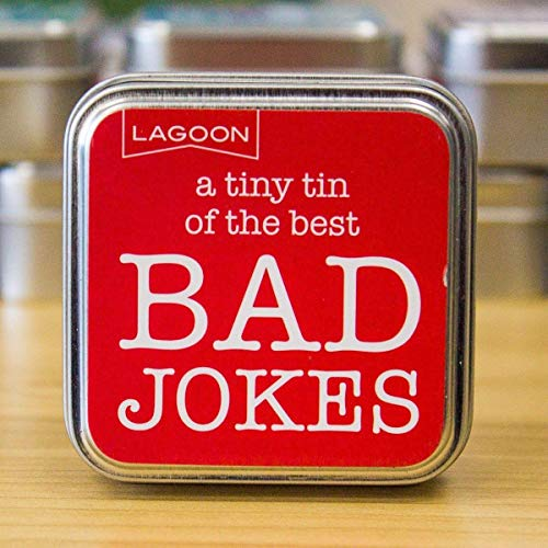Tabletop Fun In A Tiny Tin - Tabletop Trivia and Quiz Games 1 Tin Bad Jokes from The Lagoon Group