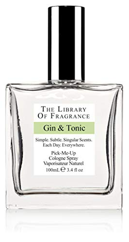 The Library of Fragrance Gin and Tonic Eau De Cologne Spray from The Library of Fragrance