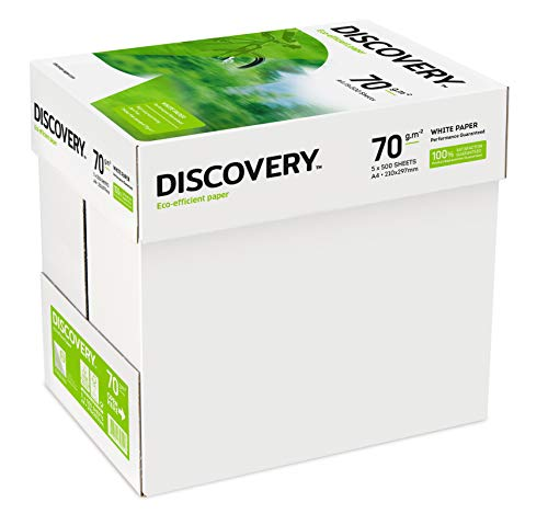 Discovery 391425 Paper A4 70gsm 5 reams (2,500 sheets of paper) from Blake