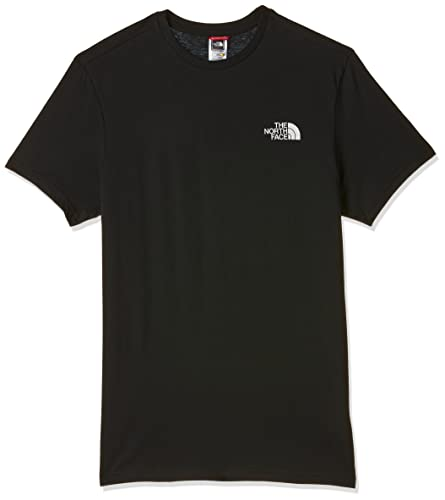 The North Face Men Simple Dome Short Sleeved T-Shirt, Black (Black/tnf Black), Large from THE NORTH FACE