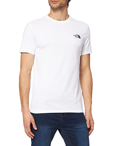 The North Face Men Simple Dome Short Sleeved T-Shirt, White (White/tnf White), XX-Large from THE NORTH FACE