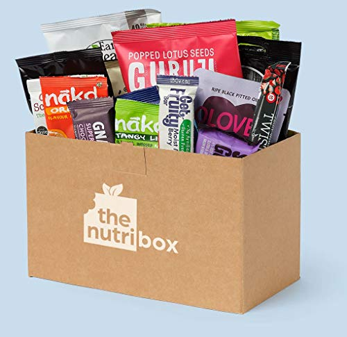 Nutribox Healthy Snack Box Vegan & Gluten Free (Small) from The Nutribox