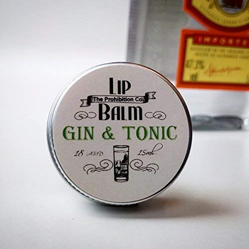 Gin & Tonic Lip Balm by The Prohibition Co. 15ml Tin from The Prohibition Co.