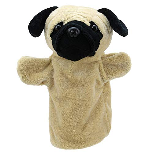 The Puppet Company Pug - Puppet Buddies - Animal Hand Puppet from The Puppet Company